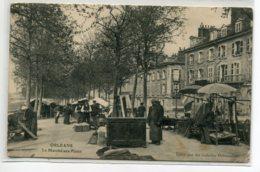 45 ORLEANS Le Marché Aux Puces Marchand De Meubles Et Son Buffer  1905 écrite Et Timb      D07 2019 - Orleans