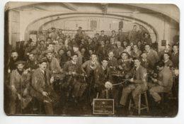 75 PARIS CARTE PHOTO Ouvriers Ecole De La SOUDURE 1931-1932 Photog Régis LEBRUN 76 Avenue Du Maine   D07 2019 - Non Classés