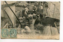 83 MARINE Marins Lavage Du Linge En Mer 1905 Timb A Bougault  1905 Timb    D07 2019 - Bateaux