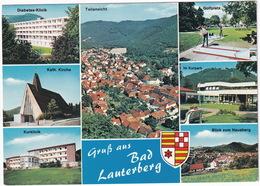 MINI GOLF / MIDGET GOLF - Bad Lauterberg - Golfplatz - (Harz, Deutschland) - Postkaarten