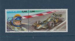 3023 & 24 De 2016 - MONACO - Neuf ** - PAIRE -  Ronnie PETERSON - Série Pilotes Mythiques De F1 - Prix De Monza En 1978 - Monaco