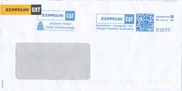 BRD Garching Frankit 0,85 Euro FR 2019 Zeppelin CAT Ostern Osterei - Affrancature Meccaniche Rosse (EMA)