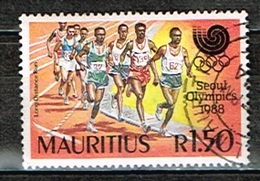 ILE MAURICE/MAURITIUS /Oblitérés/Used / 1988 - JO SEOUL - Maurice (1968-...)