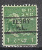 USA Precancel Vorausentwertung Preo, Locals Illinois, Perry 729 - Vereinigte Staaten