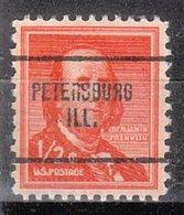 USA Precancel Vorausentwertung Preo, Locals Illinois, Petersburg 704 - Vereinigte Staaten