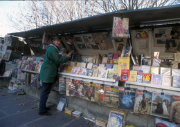 - 75 - Paris (75) - Carte Postale Moderne - Métier - Bouquiniste - 370 - Straßenhandel Und Kleingewerbe