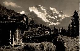 CPSM Bei Wengen Die Jungfrau - VS Valais