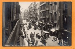 Napoli 1910 Real Photo Postcard - Napoli