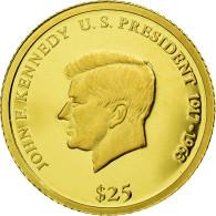 Monnaie, Liberia, 25 Dollars, 2000, FDC, Or - Liberia
