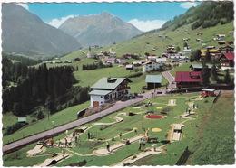 MINI GOLF / MIDGET GOLF - Hirschegg Mit Widderstein - Minigolfplatz - (Deutschland) - Postkaarten