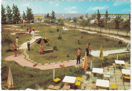 MINI GOLF / MIDGET GOLF - Podersdorf Am Neusiedlersee  - Minigolf - (Burgenland, Austria) - Postkaarten