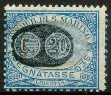 San Marino 1931 Sass. SS35 Nuovo * 100% - Segnatasse