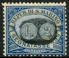 San Marino 1931 Sass. SS44 Nuovo * 100% - Segnatasse