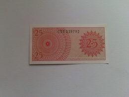 Indonesia  25 Dua Puluh Lima Sen Banknote Date 1964 - Indonesia