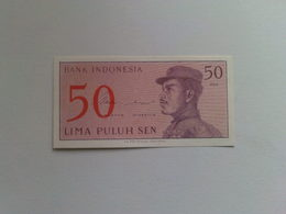 Indonesia  50 Lima Puluh  Sen Banknote Date 1964 - Indonesia