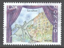 Monaco, Yv  2985 Jaar 2015, Hogere Waarde,  Gestempeld - Used Stamps
