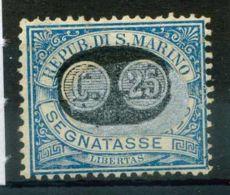 San Marino 1931 Sass. 38 Nuovo * 100% Segnatasse - Segnatasse