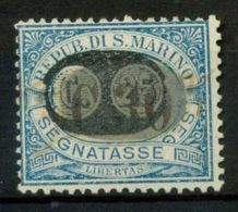 San Marino 1931 Sass. SS40 Usato 100% - Segnatasse