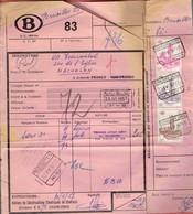 P-258 - Documents CF Et Grande Vitesse - Oblitérations Différentes De 1957 - 1952-....