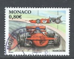 Monaco, Yv  3026 Jaar 2016,  Gestempeld - Monaco