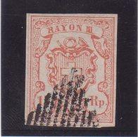 SUISSE : N° 22 . OBL . 1852 .TB . SIGNE CALVES . - 1843-1852 Poste Federali E Cantonali