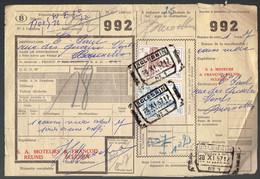 P-258 - Documents CF - Grande Vitesse - Expres - Oblitérations Différentes De 1957 - 1952-....