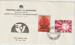 Somalie 1975 FDC Année Int. De La Femme - Somalie (1960-...)