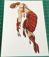 Artist ~ Fay Pomerance ~ Ballet Project 1967, Spilt Blood, Solo Dancer - Paintings