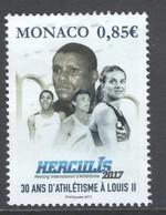 Monaco, Yv  3099 Jaar 2017,  Gestempeld - Used Stamps
