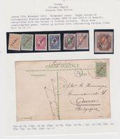 Turkey-1909 Ottoman Empire Russian Levant P. O Constantinople Postcard Cover - 1858-1921 Empire Ottoman
