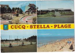 MINI GOLF / MIDGET GOLF - Cucq-Stella-Plage: La Plage, La Mairie, Le Court De Tennis - Le Mini-Golf - (France) - Postkaarten