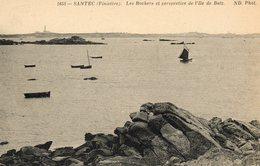 Santec    Les Rochers  L Ile De Batz - Autres Communes