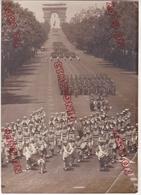 Au Plus Rapide Paris Défilé 14 Juillet Régiment Tirailleurs Marocains Mascotte Bélier - Guerre, Militaire