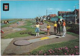 MINI GOLF / MIDGET GOLF - Bispham - Crazy Golf, Tram/Streetcar - (England) - Postkaarten