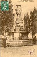 Besancon    Fontaine Place De La Revolution - Besancon