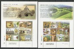 South Korea 2000 Millenium Series Sheet Set Of 11 Y.T. 1859/2014 ** - Corée Du Sud