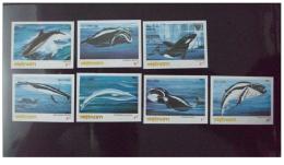 Vietnam Viet Nam MNH Imperf Stamps 1985 : Whales / Whale (Ms478) - Vietnam