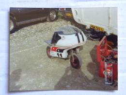 Deux Photos Brands Match 1974 - Royaume Uni Kent - Motos
