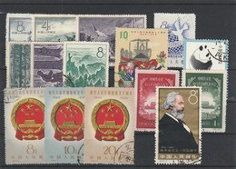 CHINA - 19-05-17. 15 USED STAMPS - 1949 - ... République Populaire