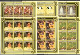 YY069 2001 MOZAMBIQUE ART PAINTINGS GUSTAV KLIMT !!! 9SET MNH - Other