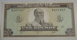 Billet D'Haîti De 1 Gourde 1989 Neuf/UNC Pick 253 - Haiti