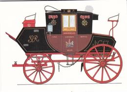 Royal Mail Coach 1815 London To Holyhead Postcard Unused - Postal Services