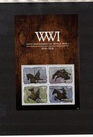 ST. VINCENT & THE GRENADINES. MILITARY HISTORY. WWI. MNH (4R3010) - WW1 (I Guerra Mundial)