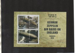 MUSTIQUE. MILITARY HISTORY. WWI. MNH (4R3108) - WW1