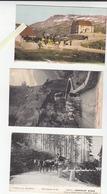 Suisse / Lot De 3 CP / Attelage Diligence Postale / Grimsel, Grimseistrasse, Furka Passhoha - Unclassified