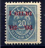 ISLANDE -29A** - CHIFFRE - 1873-1918 Dependencia Danesa