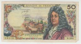 France 50 Francs 1976 VF (missing Corner) Pick 148f  148 F - 1962-1997 ''Francs''