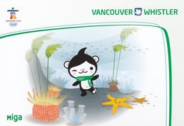 """""""MIGA"""" , Vancouver 2010 Olympic Mascot , VANCOUVER , B.C. , Canada - Olympic Games"""