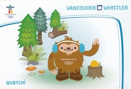 """""""QUATCHI"""" , Vancouver 2010 Olympic Mascot , VANCOUVER , B.C. , Canada - Olympic Games"""