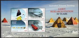 AAT, 2019 CASEY RESEARCH STATION MINISHEET MNH - Australian Antarctic Territory (AAT)